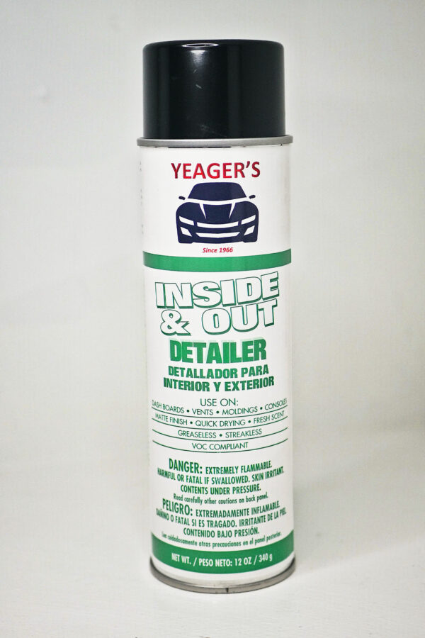 dashboard cleaner spray can